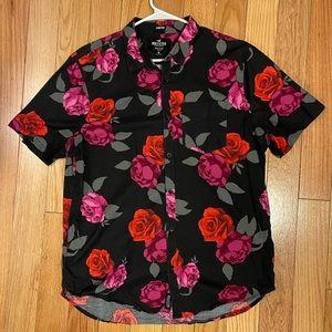 Hollister floral shirt